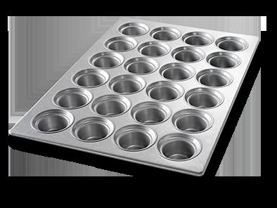 LARGE CROWN MUFFIN PAN AMERICOAT® COATING