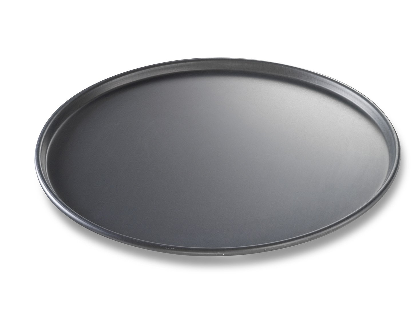 Round Thin Crust Pizza Pan – Anodized Aluminum