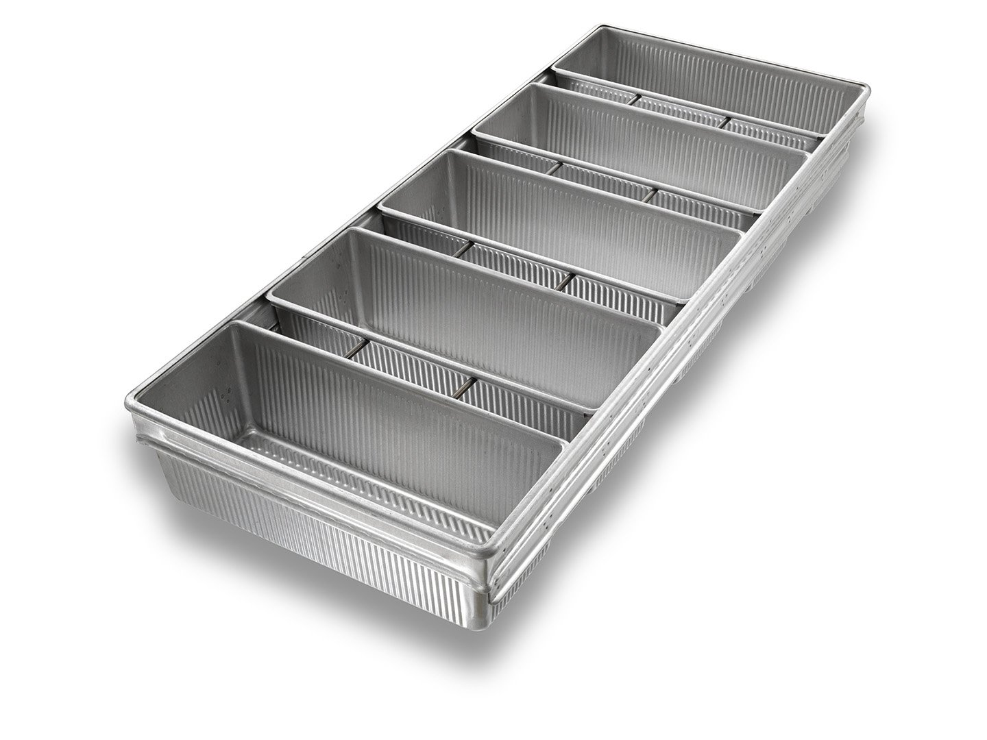 5-in-Line Pullman Bread Pan - AMERICOAT® Coating