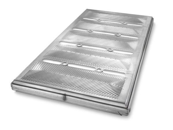 5-in-Line Pullman Bread Convex Pan Lid - AMERICOAT® Coating
