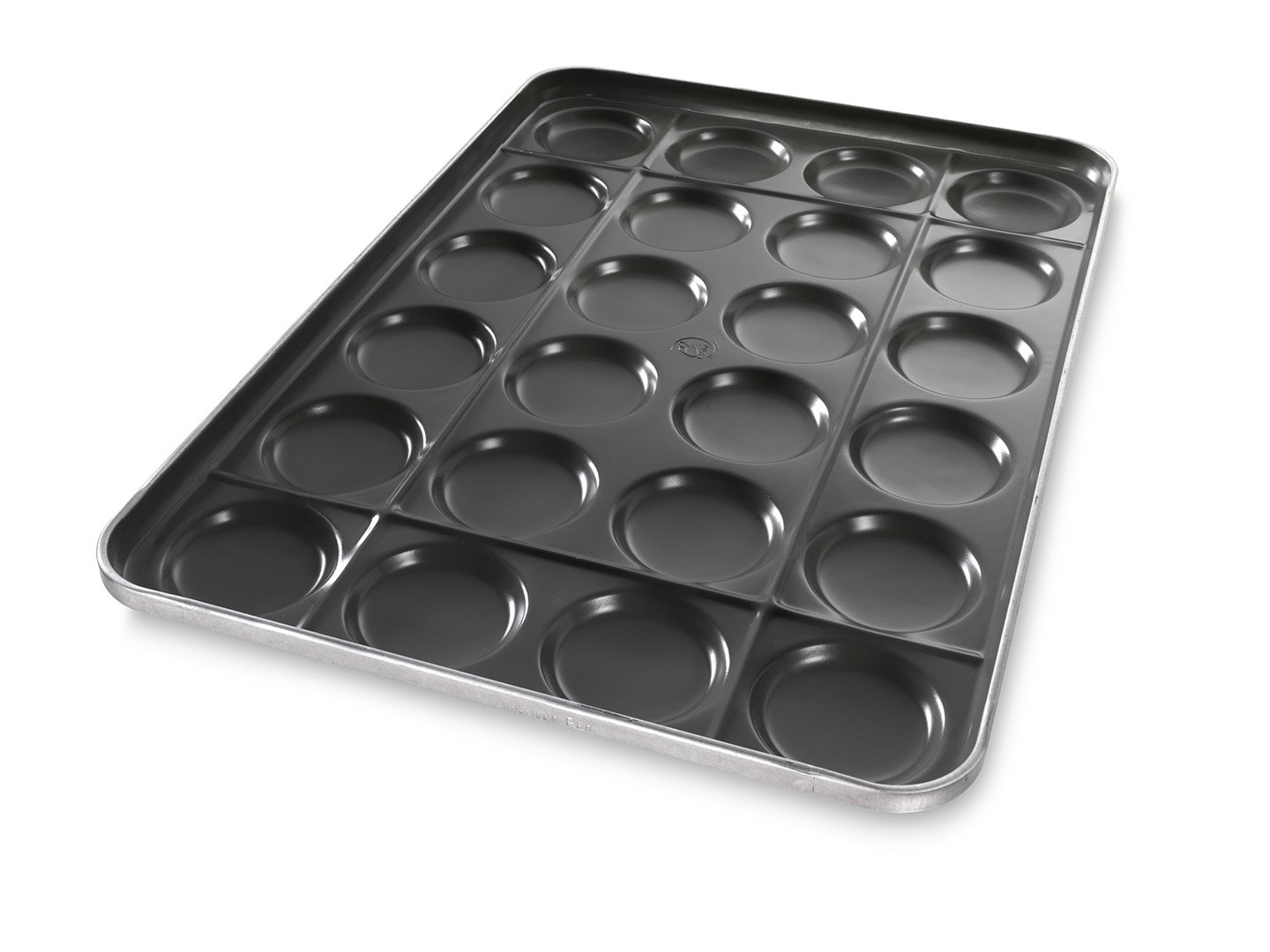 Hamburger Bun e²PAN with Structural Ribs - DuraShield® Coating