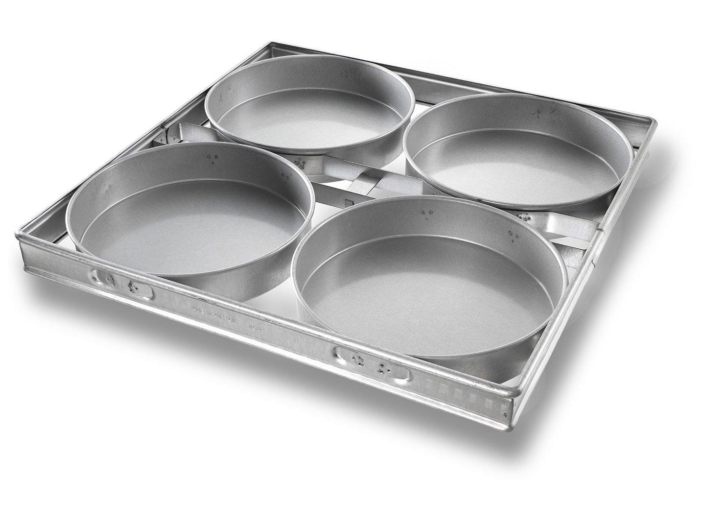 """Strapped 10"""" Round Cake Pan – AMERICOAT® Coating"""