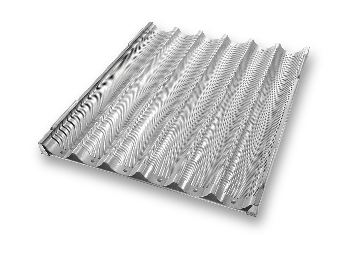 6 Channel Baguette Tray - AMERICOAT® Coating
