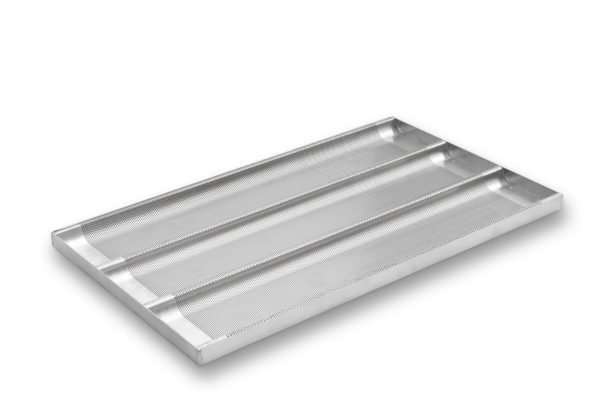 3 Channel Baguette Tray - AMERICOAT® Coating