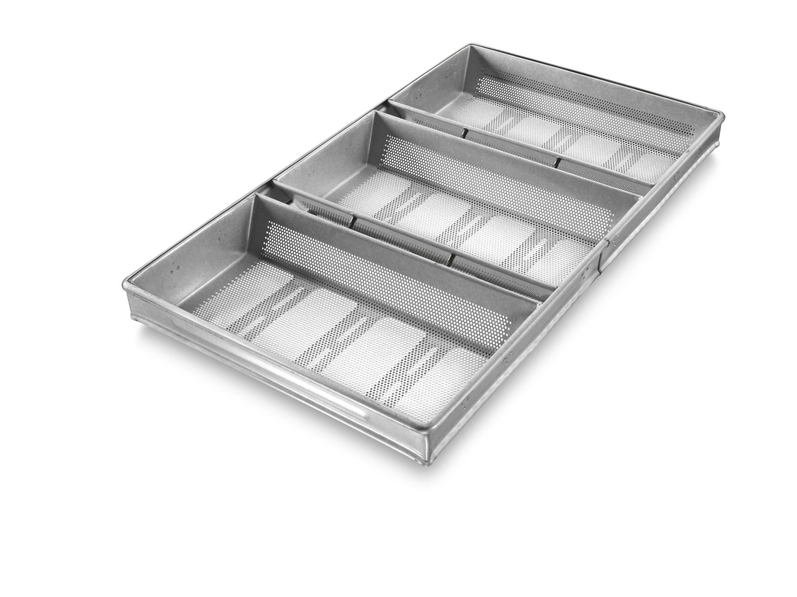3-in-Line Rye Bread Pan – AMERICOAT® Coating